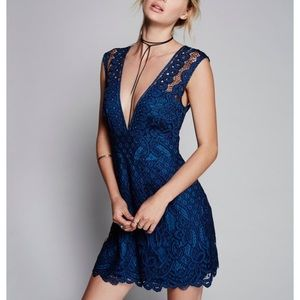 Free People one million lovers lace dress size 6